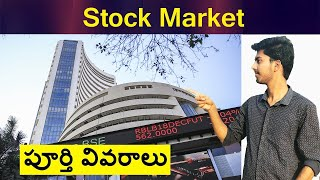 Stock Market Complete Details By Arun Surya Teja