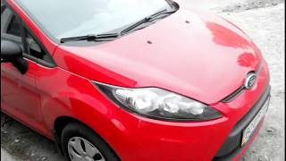 замена фильтра салона Ford Fiesta 2012 года