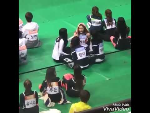 Red Velvet crazy Moments at ISAC 2018