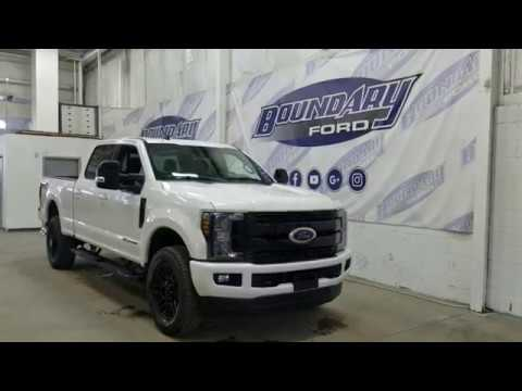 2019 Ford Super Duty F-350 Lariat Sport W/ 6.7L Power Stroke, Leather Overview | Boundary Ford