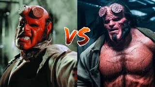 Hellboy Ron Perlman vs Hellboy David Harbour