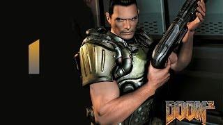 Doom 3 прохождение часть 1