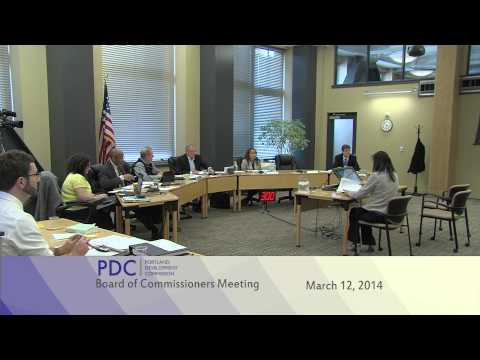 PDC Commission Meeting 3-12-14 (Part 1 of 2)
