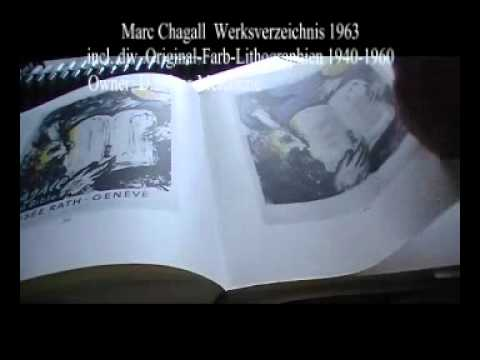 Marc Chagall Lithographie Original Werksverzeichnis 1963 Owner SelMcKenzie Selzer-McKenzie