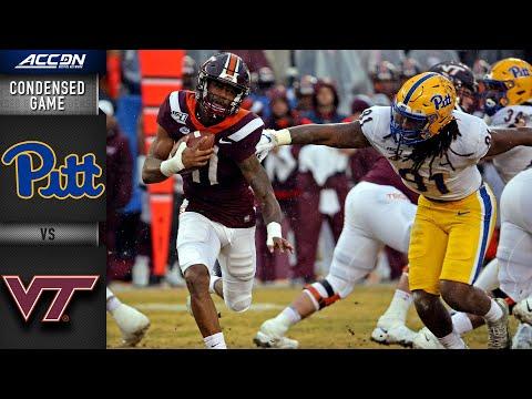 Pittsburgh Vs. Virginia Tech Condensed Game | ACC Football 2019-20