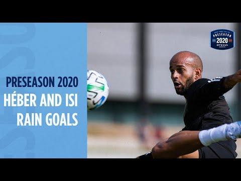 Héber and Isi Rain Goals   PRESEASON 2020