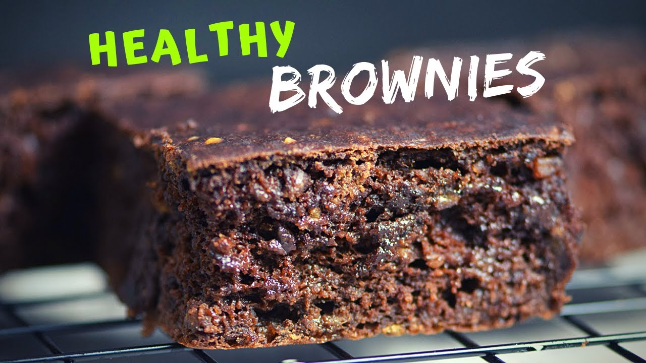Banana Brownies Recipe (with oats!)