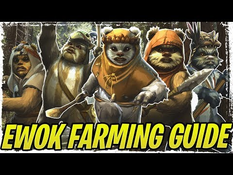 Ewoks Confirmed for C-3PO Event | Best Ewoks to Farm + Gear Guide | Galaxy of Heroes