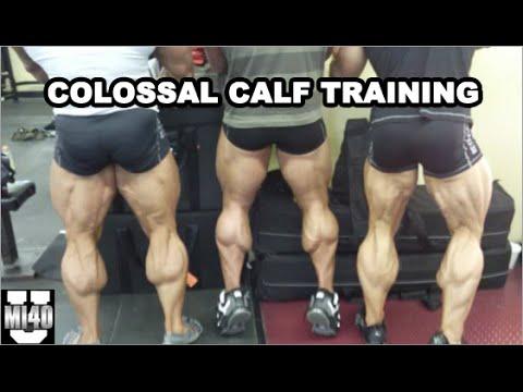 colossal calf training mi40 university ben pakulski youtube