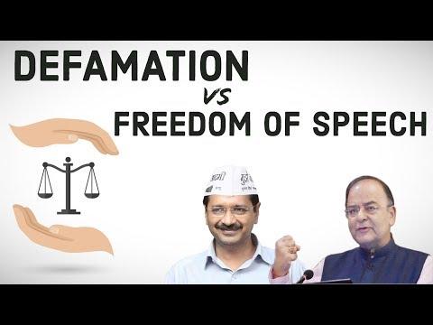 Defamation Vs Freedom of speech - Section 499, 500 IPC Legal Aptitude & Reasoning for UPSC/CLAT