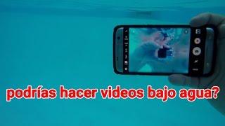 Es posible tomar videos bajo agua? GALAXY S7 Edge