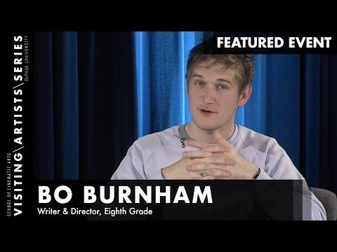 Bo Burnham, Writer & Director, Eighth Grade | DePaul VAS