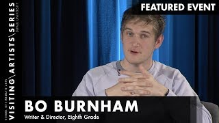 Bo Burnham, Writer & Director, Eighth Grade | DePaul VAS