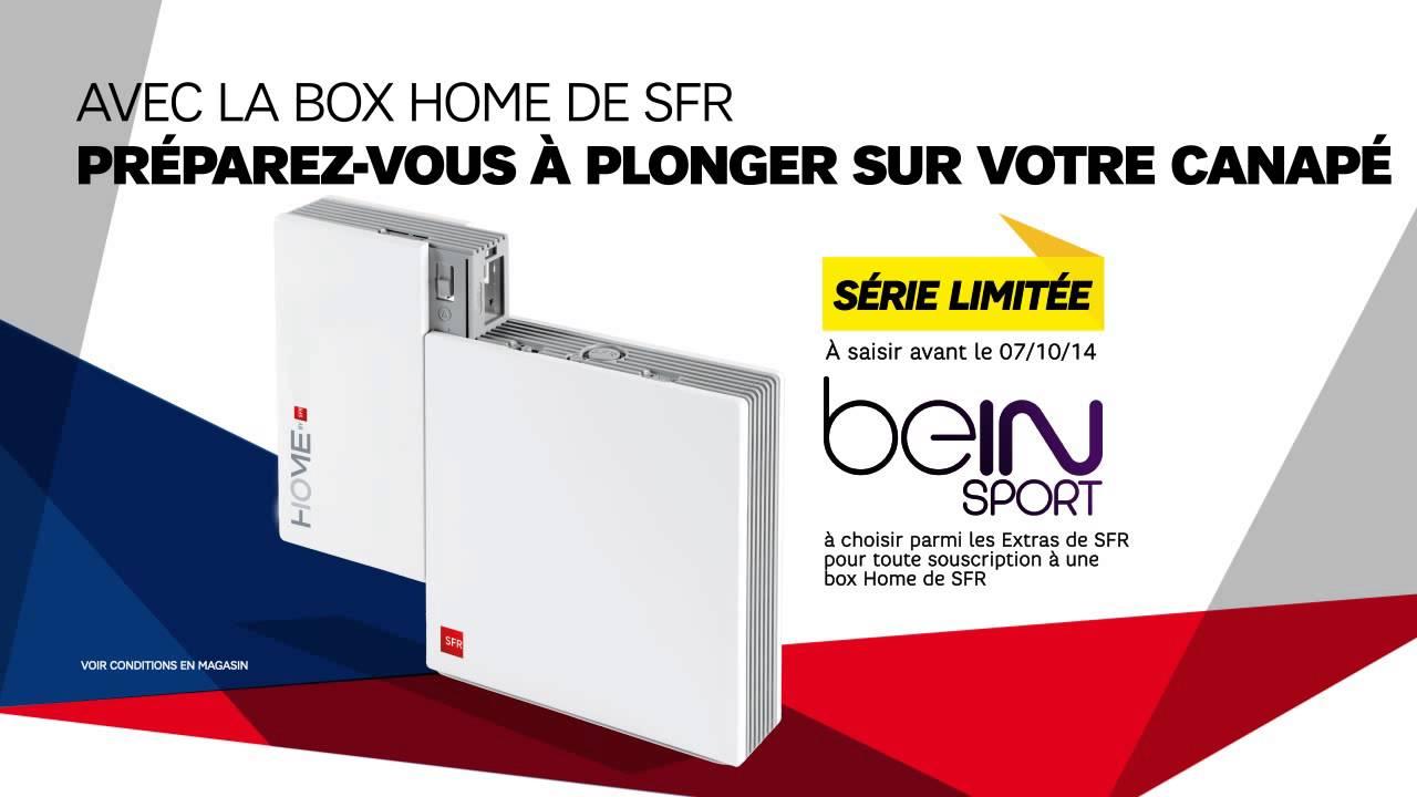 box home de sfr srie limite extra bein sport box home de sfr pack