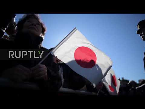Japan: Emperor Akihito delivers final New Year's address