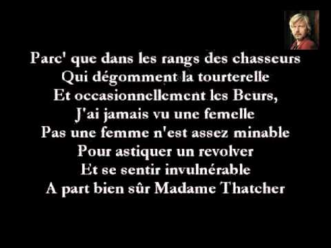 Renaud - Miss Maggie (English)