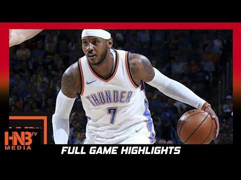 Oklahoma City Thunder vs Indiana Pacers 1st Half Highlights / Week 2 / 2017 NBA Season