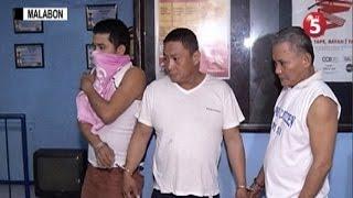 3 lalaki, arestado matapos mahulihan ng baril, droga sa Malabon