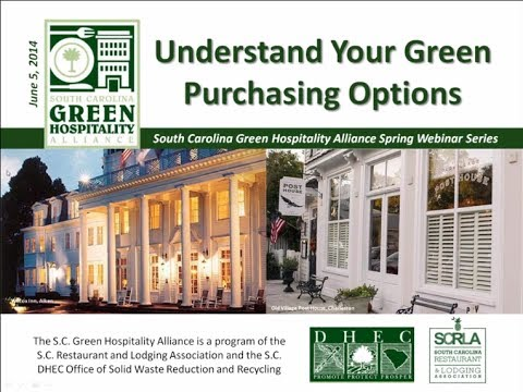 Understand Your Green Purchasing Options