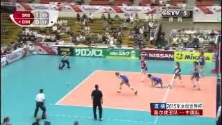 Zhu Yuan Zhang - China women's volleyball team [ World Cup 2015 ]
