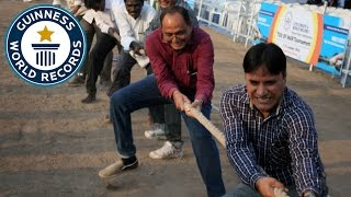 Largest Tug of War Tournament - Guinness World Records