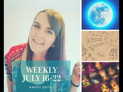 Tarot Weekly - 16 - 22 July with Amy for all 12 signs!