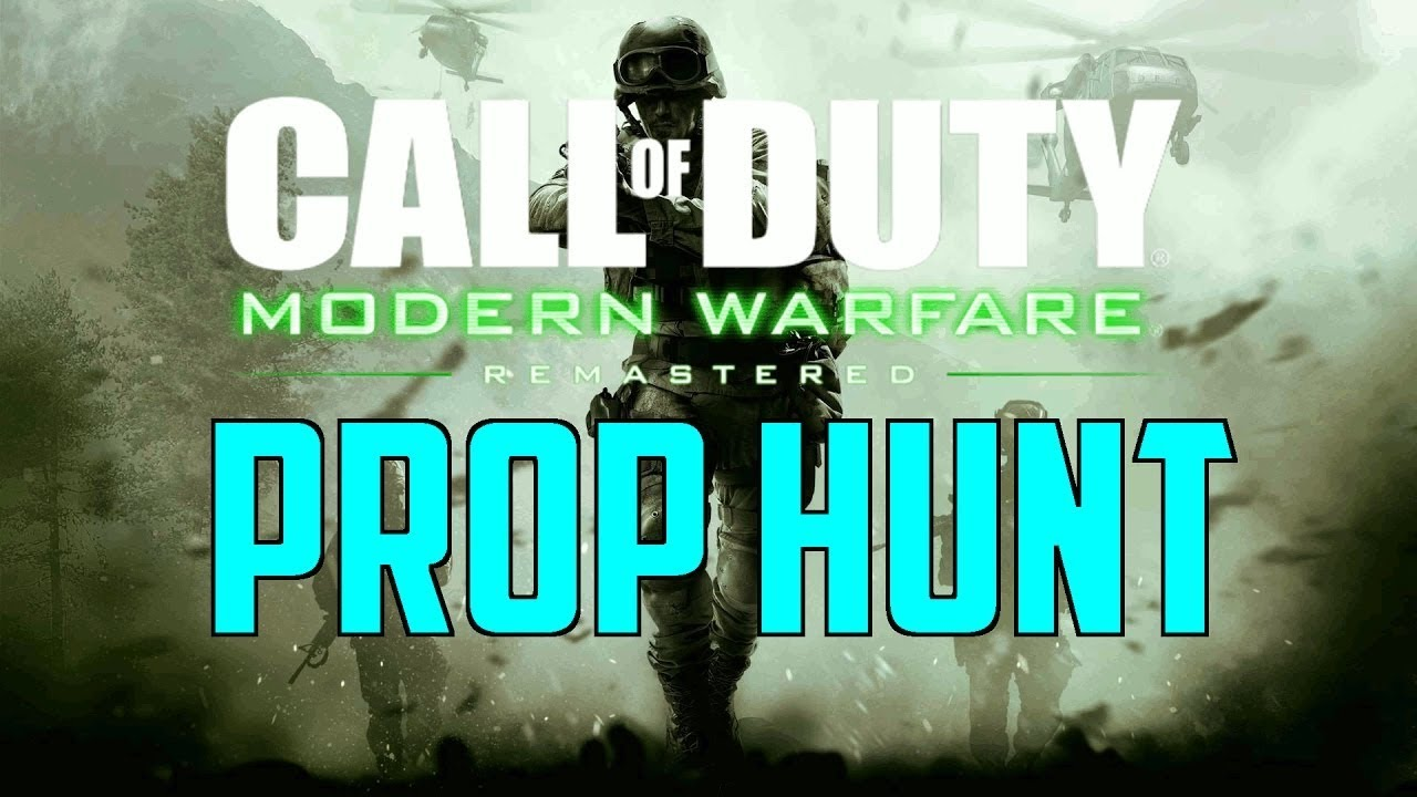 Call Of Duty Modern Warfare Remastered Prop Hunt Split Screen Ps4 Multiplayer Funny Moments Youtube