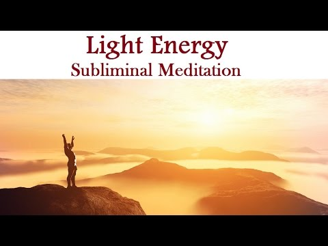 Healing Light Energy Subliminal Guided Meditation -  Mind Body Scan Isochronic Tones