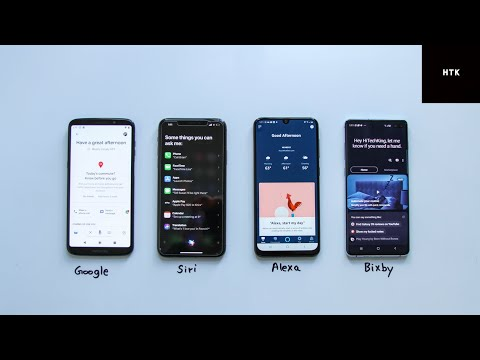 Voice Assistant Battle 2019 (Google Assistant, Siri, Alexa & Bixby)