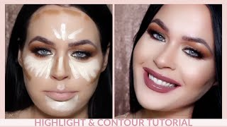 Amazing NEW Drugstore Highlight & Contour Tutorial l NYX Can't Stop Won't Stop