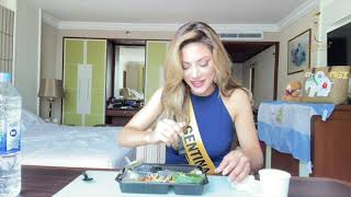 How to eat Thai Food in 2 minutes - MISS GRAND ARGENTINA