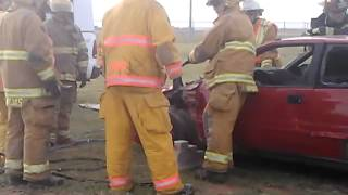 Auto Extrication Class At Lubbock Area Training 2012