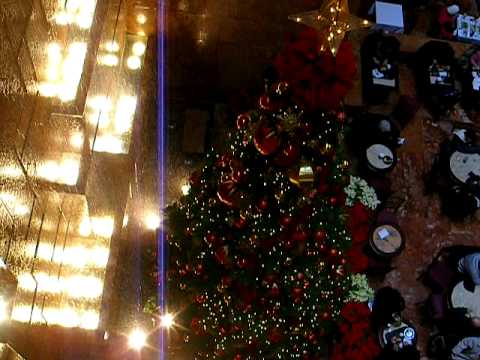 TRUMP TOWER FIFTH AVENUE MANHATTAN NEW YORK 2010 CHRISTMAS TIME