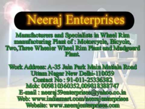 Neeraj Enterprises Motorcycle Wheel Rim Manufacturing Production Line