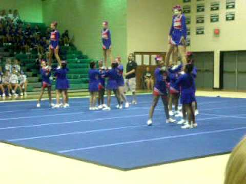 E.L. Wright Middle School Cheerleading - YouTube