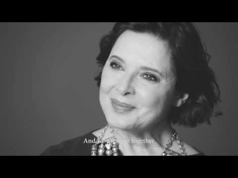 BTS - Shooting Isabella Rossellini for LANCOME