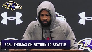 Earl Thomas Talks About Returning to Seattle | Baltimore Ravens