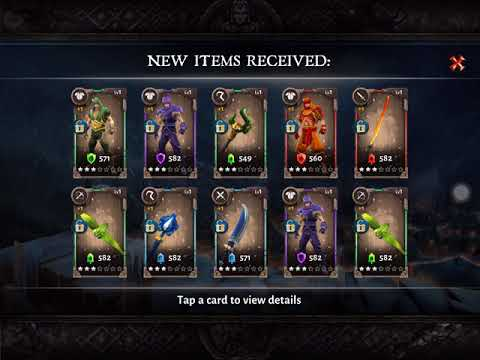Dungeon Hunter 5 - Open Christmas Chests