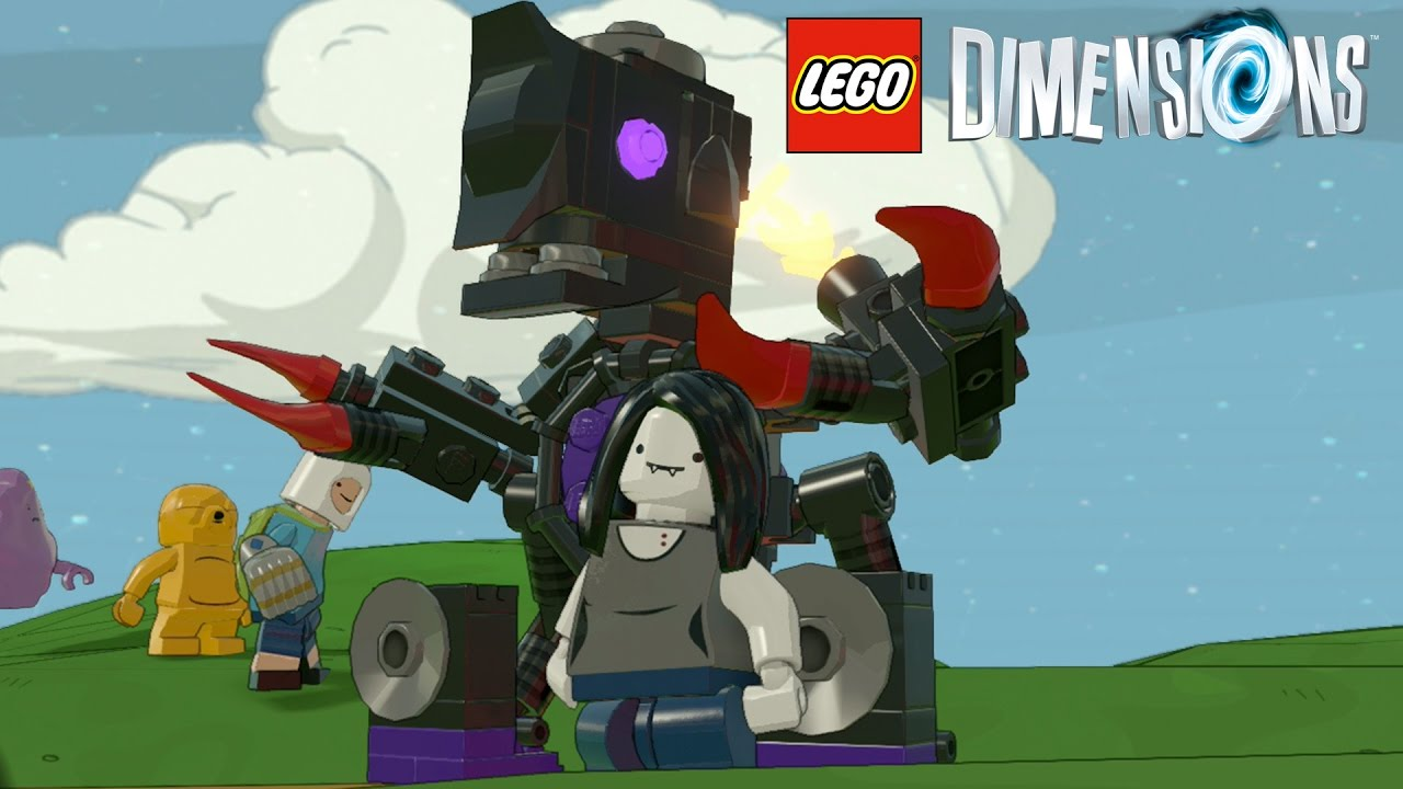 LEGO Dimensions   Marceline Gameplay   YouTube