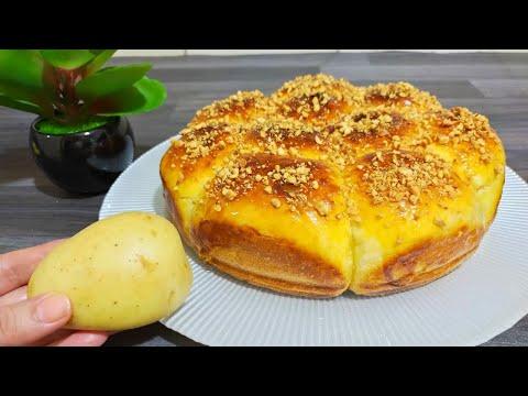 con-una-patata-😍-e-pochi-ingredienti,-prepara-un-brioche-soffice-buono-facile