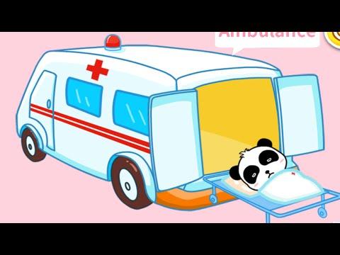 Мультики про машинки. Пожарная машина Скорая помощь Полицейская у видео для детей.