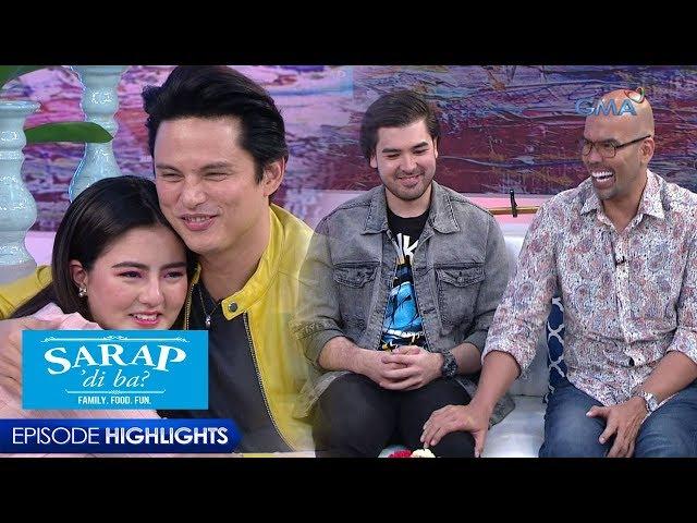 Sarap, 'Di Ba?: Zoren Legaspi and Benjie Paras, the cool celebrity dads
