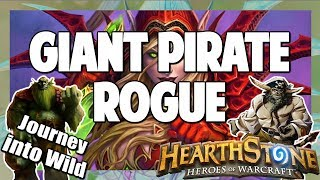 Hearthstone | Giant Pirate Rogue | Journey into Wild 30