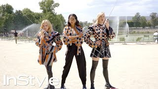 Louis Vuitton's Charlie's Angels: Chloe Grace Moretz, Sophie Turner, and Laura Harrier | InStyle