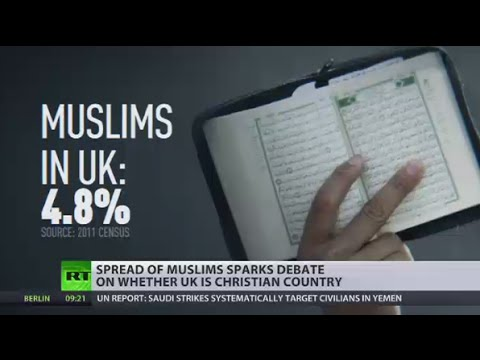 Secular State? Spread of Islam puts tough question of what is main UK religion