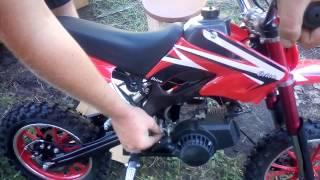 Мини кроссовый мотоцикл для детей