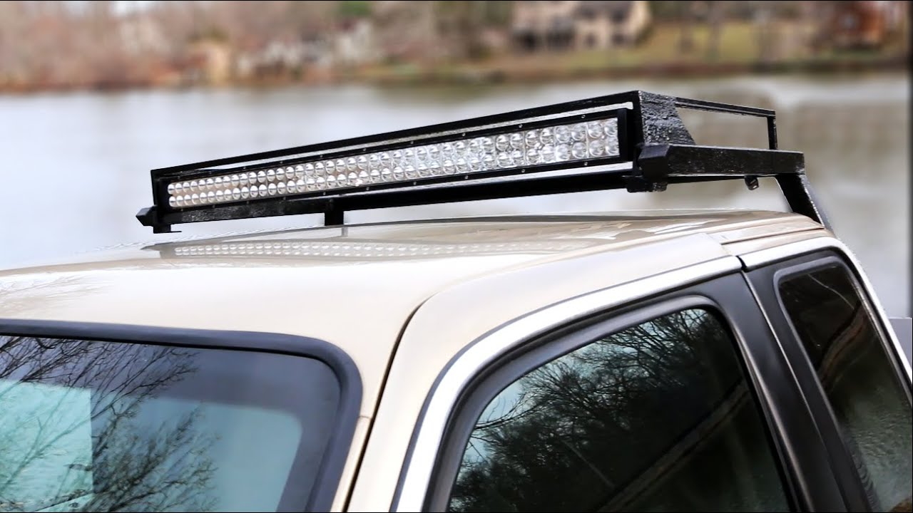 Custom led light bar build part 2 project night light youtube mozeypictures Images