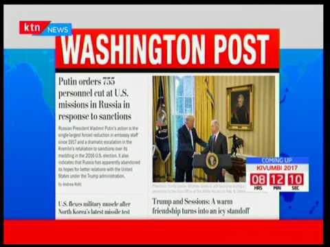 World view: World Press; Headlines around the world