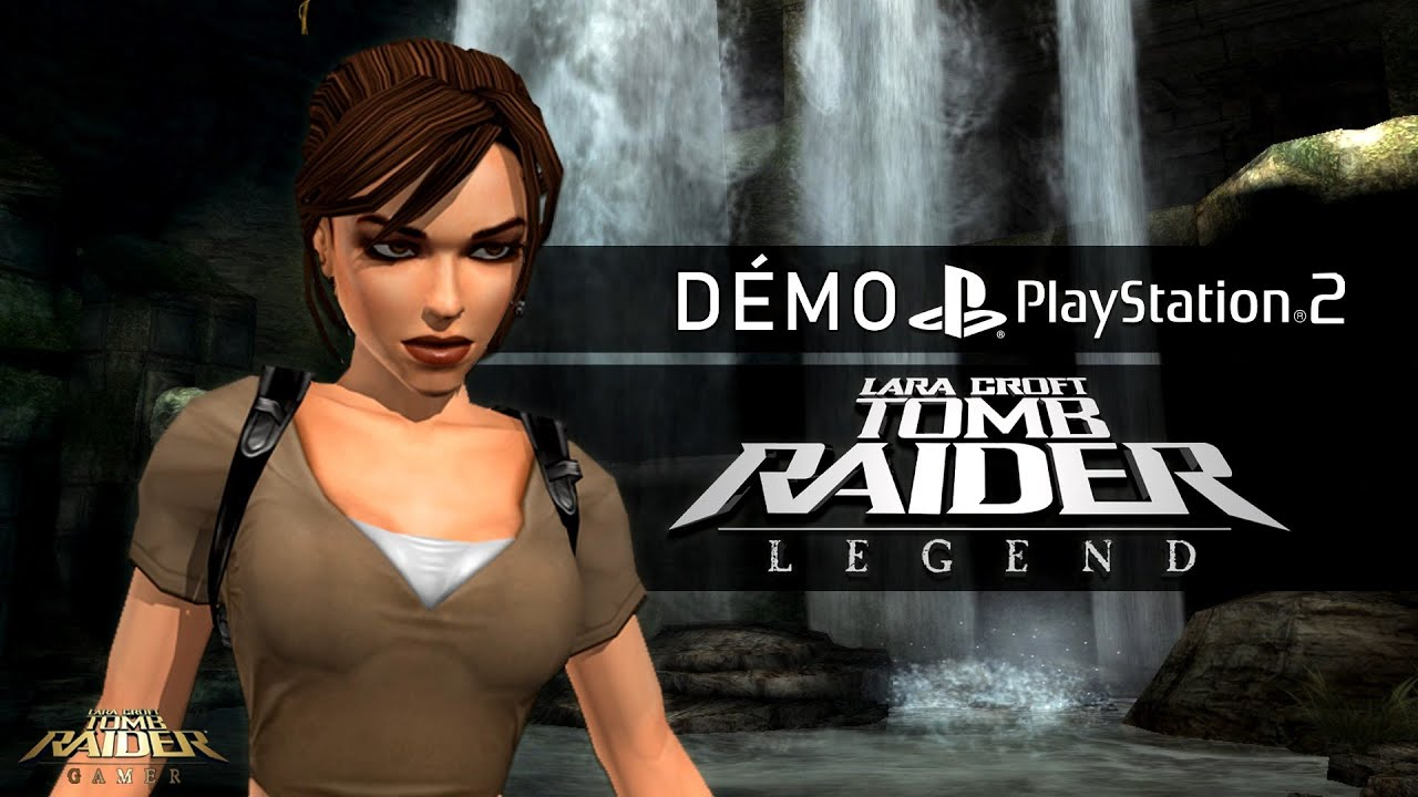 Tomb Raider Legend 2006 Demo Playstation 2 Youtube
