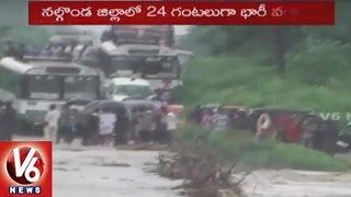 heavy rains in telangana   rains to hit state for next 3 days   v6 news